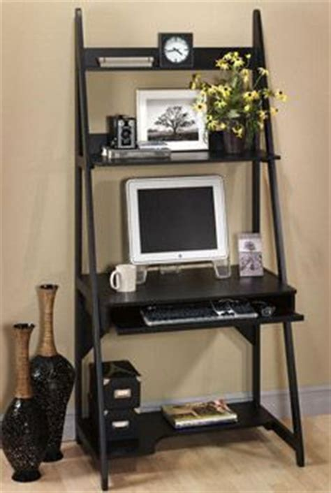 Narrow Computer Desk With Shelves by Computer Desk For Small Spaces And Efficient Space