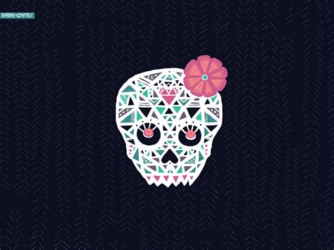 Pink-sugar-skull-wallpaper-mbulaho-tumblr-iphone-wallpaper
