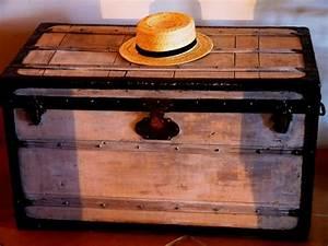 Malle En Bois Ikea : malle bois ~ Teatrodelosmanantiales.com Idées de Décoration
