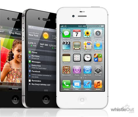 iphone 4s 32gb iphone 4s 32gb compare prices plans deals whistleout
