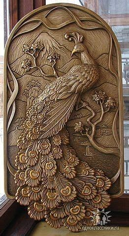 myil padam wood carving designs wood carving art