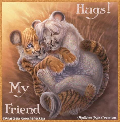 Hugs My Friends