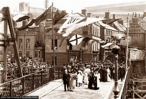 Whitby, Opening of Whitby Swing Bridge 1909 | Whitby ...