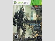 Crysis 2 Limited Edition for Xbox 360 2011 MobyGames