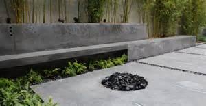 Outdoor Cement Bench modern concrete patio cheng concrete exchange