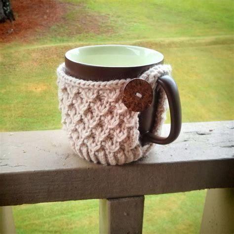 cool crochet coffee cozy ideas tutorials