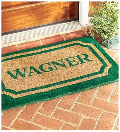 Personalized Coir Doormat by Personalized Coir Doormat Personalized Accents Gifts