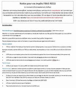 Calcul Des Frais Reel Impot : maj notice frais r els imp ts 2013 pour les enseignants ~ Premium-room.com Idées de Décoration