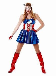 Kostüm Superhelden Damen : miss captain america kost m ~ Frokenaadalensverden.com Haus und Dekorationen