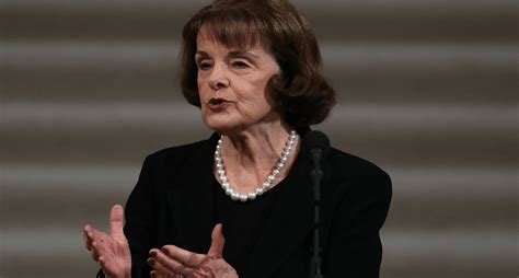 Feinstein Comes Clean and Admits Why She Released the