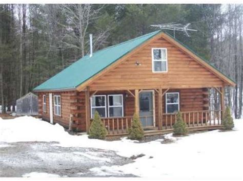 log cabin maine beautiful maine log cabin land for starks