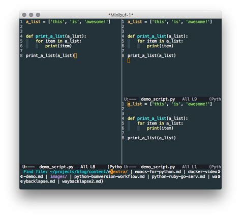 Best Python Editor Emacs The Best Python Editor Real Python