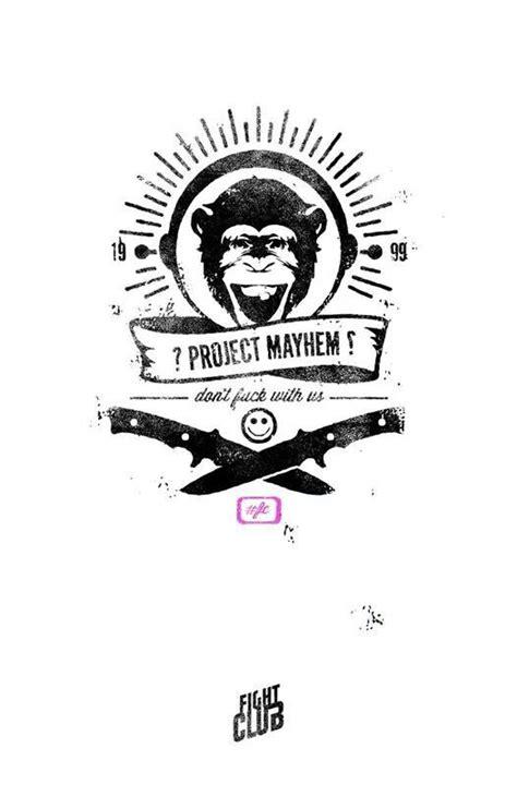 Project mayhem, Fight Club.... | Fight club tattoo, Fight club, Fight club 1999