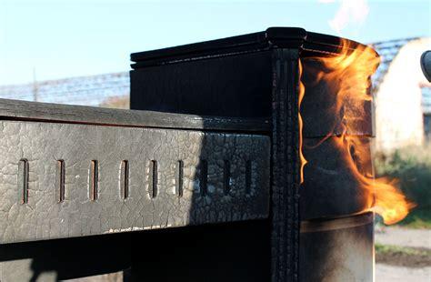 charred wood finish furniture  yaroslav galant captivatist