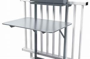 Table De Balcon Pliante : table pliante balcon bistro rabattable 77 x 64 cm ~ Melissatoandfro.com Idées de Décoration