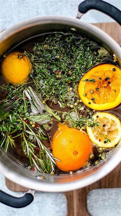 Turkey Brine Breast Citrus Brined Wet Balsamic