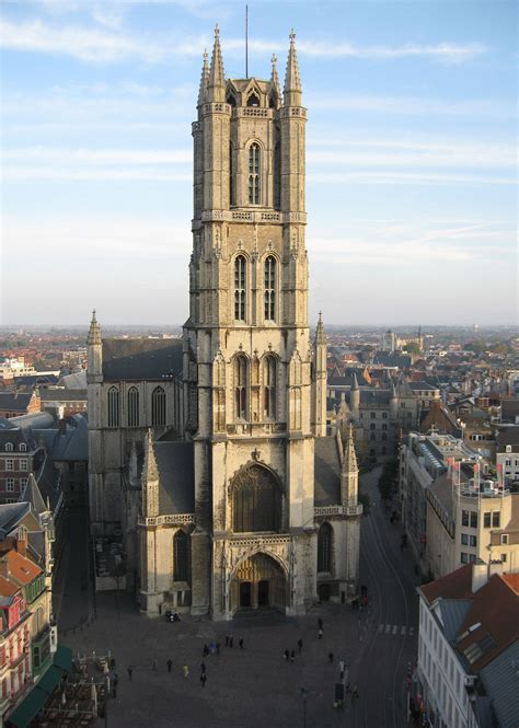 St Bavos Cathedral Ghent Wikipedia