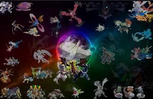 all pokemon legendaries fanart