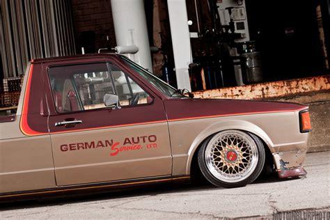 volkswagen rabbit stance bbs rs on bagged volkswagen caddy rabbit pickup jdmeuro com