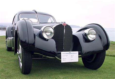 With its innovative low chassis and opulent curves, the bugatti 57sc atlantic coupe is considered the apogee of art deco automobile design. Overviews 1936 Bugatti Type 57SC Atlantic History ~ World's most Expensive Cars Review