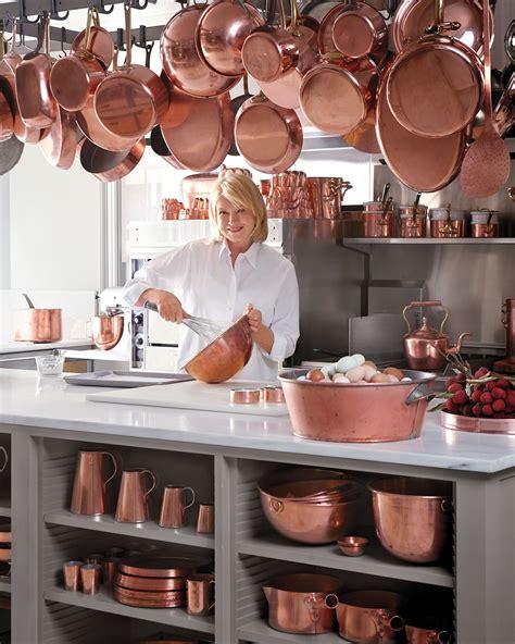 martha   art  collecting copper cookware copper decor copper kitchen copper cookware