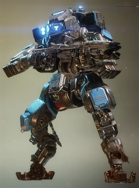 monarch in gray camo mechs in titanfall 2