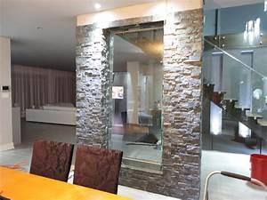 mur d39eau interieur encastre dans l39ardoise With mur d ardoise interieur