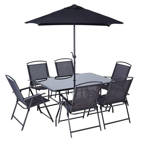 reclining garden chairs asda miami patio set 8 garden furniture asda direct