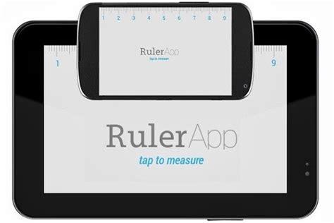 ruler on phone image gallery ruler app