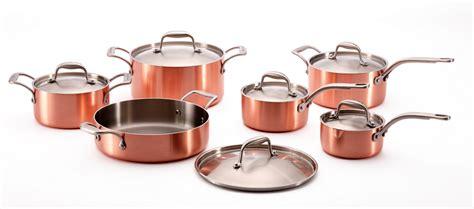 batterie de cuisine en cuivre cuisine les articles de cuisson outils et accessoires