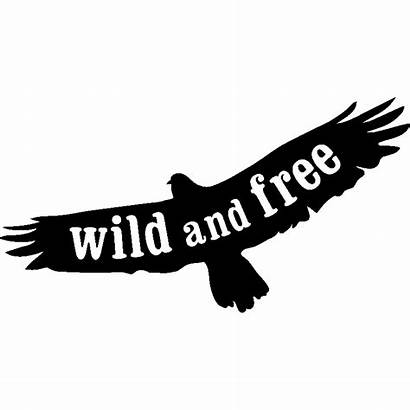 Wild Silhouette Aigle Sticker Stickers Ambiance