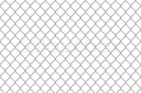 Stahl Gitter Auf Einem Weißen Hintergrund Für Sie