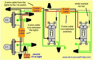 Electrical - 3-way Switches And Independent Lights
