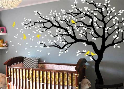Baum Wandtattoo Im Kinderzimmer  24 Kreative Anregungen