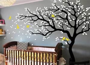 Baum Wandtattoo im Kinderzimmer