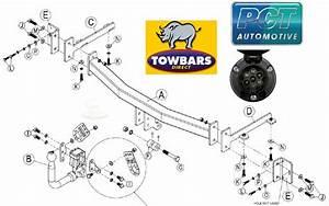 Detachable Swan Neck Towbar For Bmw 3 Series E90 Saloon  E91 Tourer Estate 335