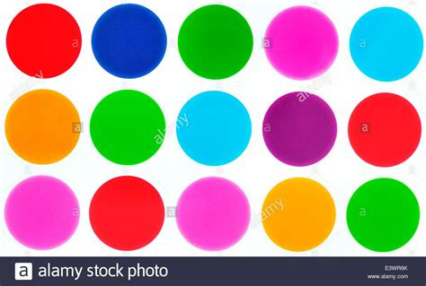 color circles polka dot bright colored circles stock photo 71252459 alamy