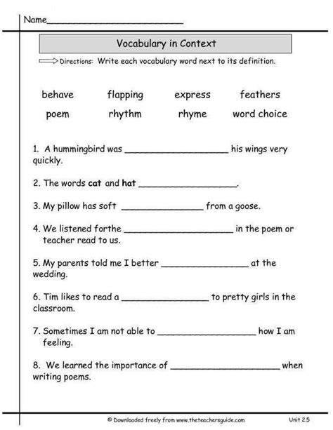 multiple meaning words worksheet homeschooldressage