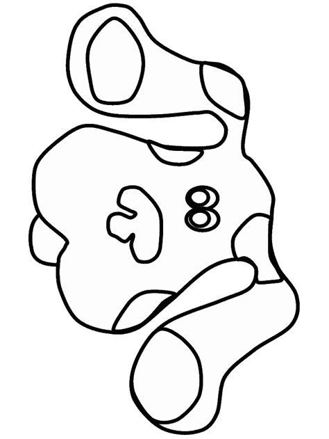 Blues Kleurplaat by N 15 Kleurplaten Blues Clues