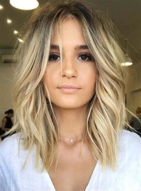 36 gorgeous undone textured lob haircuts 2018 hairstyle