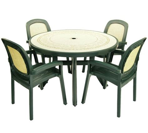 buy nardi toscana table with 4 beta chairs forest green