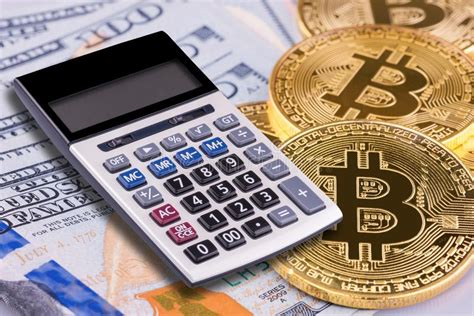 Calculator to convert money in bitcoin (btc) to and from united states dollar (usd) using up to date exchange rates. Financial Calculator On Bitcoin And US Dollar Bank Background Stock Image - Image of dollar ...