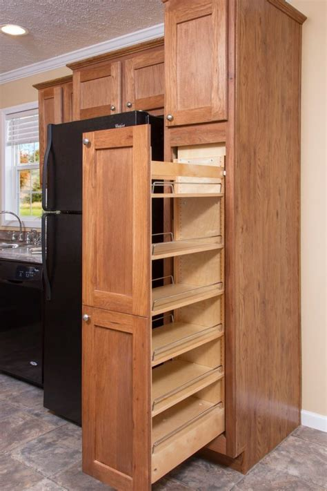 Storage Cabinets For Kitchen Image Wood Pantry