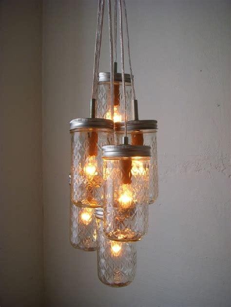 jar chandelier diy 10 diy ways to reuse jars yeahmag