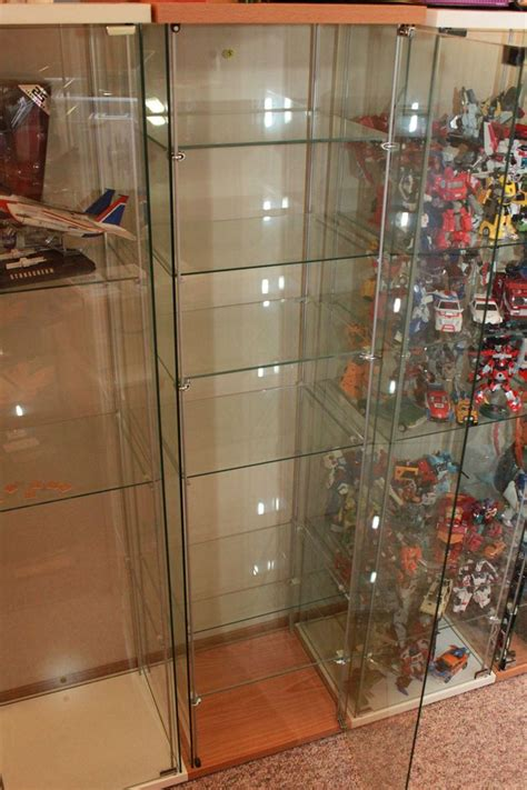 ikea detolf glass display cabinets ikea detolf modification adding additional shelves