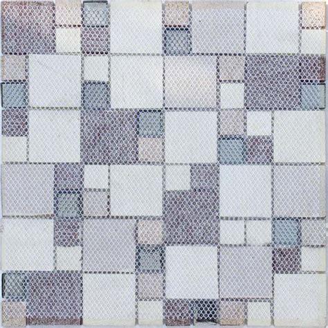 glass mosaic kitchen tiles washroom backsplash