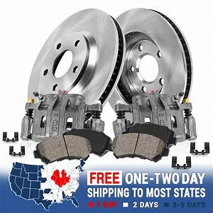 Front Oe Brake Calipers Rotors  U0026 Pads 13wl 2001 2002 2003