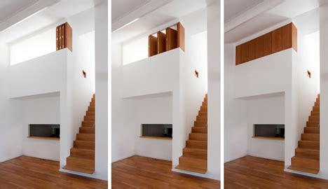 Mezzanine Offene Wohnraumgestaltung by Hideaway Bedroom Crafty Built In Wood White Dividers
