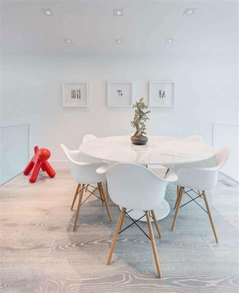 table ronde avec chaise meubles salle à manger idées en 80 photos exquises