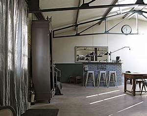 Chambre Deco Industrielle : belle d coration loft industriel chambre ~ Zukunftsfamilie.com Idées de Décoration